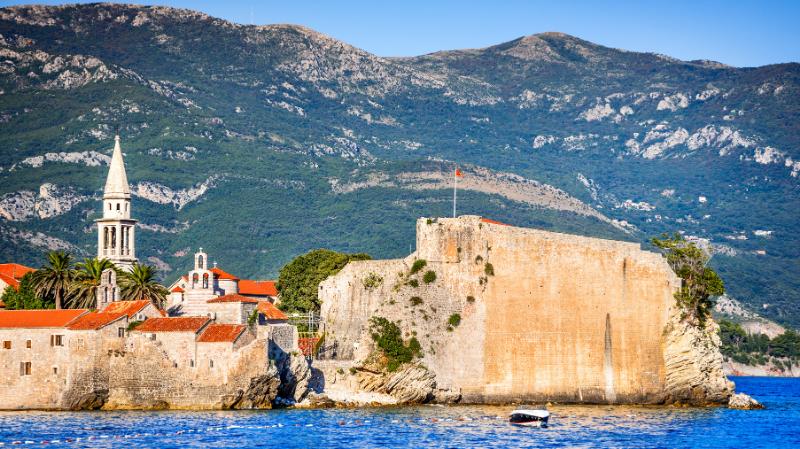Budva Old Town, Montenegro
