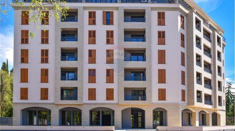Luxury building below the Gorica hill