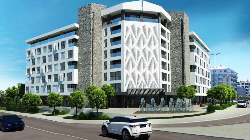 New building next to the Vezir bridge in Podgorica